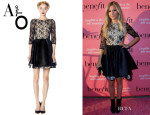Ashley Tisdale's Alice + Olivia 'Katelyn' Lace Dress