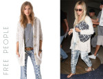 Ashley Tisdale's Free People Toggle Coat