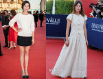 Astrid Berges-Frisbey In Chanel - Deauville Film Festival Premieres & Closing Ceremony