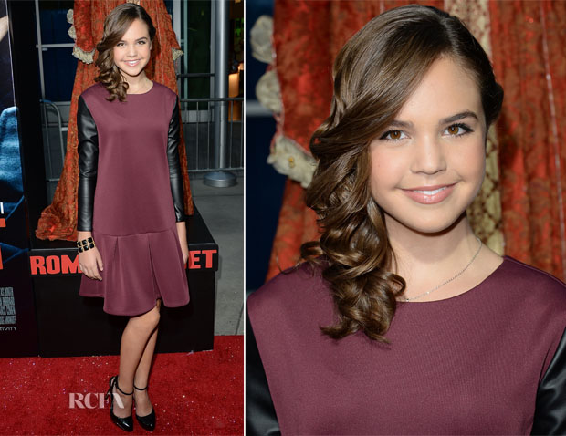 Bailee Madison In BCBGeneration - 'Romeo & Juliet' LA Premiere