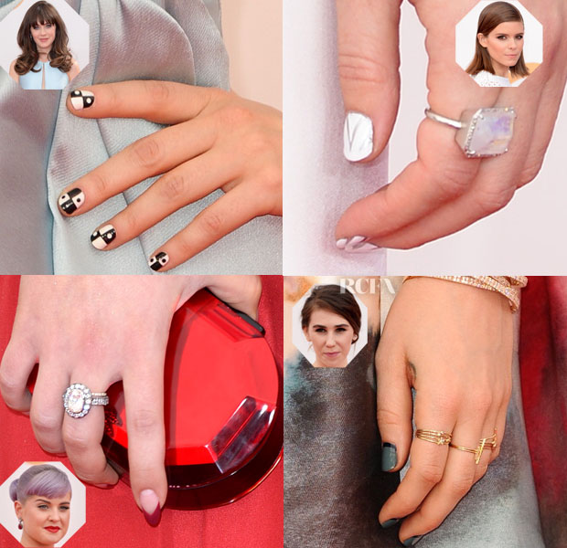 Beauty Spot Diy Nail Art Red Carpet Fashion Awards