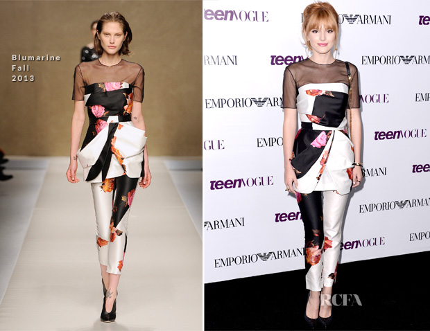 Bella Thorne In Blumarine - 2013 Teen Vogue Young Hollywood Party