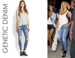 Beyonce Knowles' Genetic Denim 'Shya' Jeans