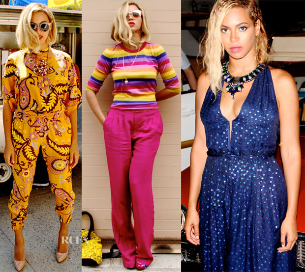 6dd45b3bd2064 Beyonce Knowles Loves...Gucci Resort 2014 - Red Carpet Fashion Awards