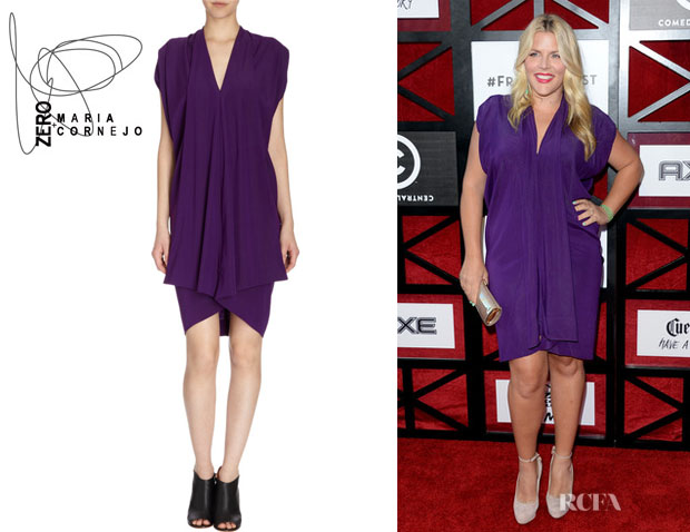Busy Philipps' Zero + Maria Cornejo 'Folio' Dress