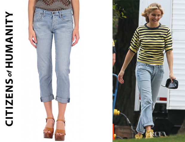 Cameron Diaz' Citizens of Humanity 'Dylan' Boyfriend Jeans