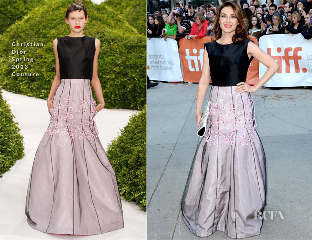 Carice van Houten In Christian Dior Couture -  'The Fifth Estate' Toronto Film Festival Premiere2