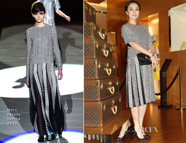 Carina Lau In Marc Jacobs - Louis Vuitton Commerical Event