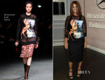 Carine Roitfeld In Givenchy - Mercedes-Benz Star Lounge