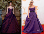 Carrie Underwood In Romona Keveza - 2013 Emmy Awards