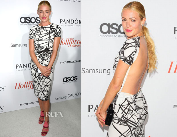 Cat Deeley In ASOS - The Hollywood Reporter's Emmy Party
