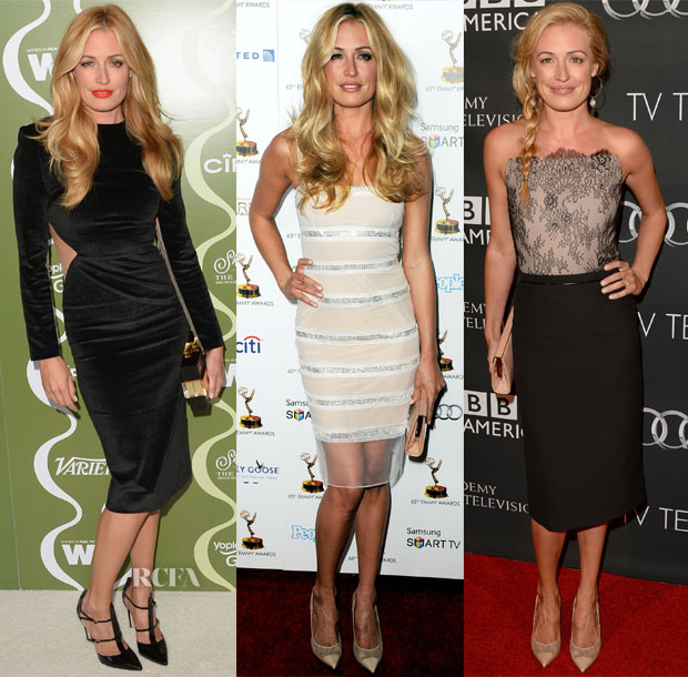 Cat Deeley's Emmy's Eve Weekend Looks