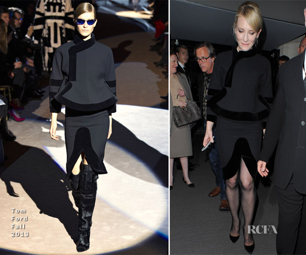 Cate Blanchett In Tom Ford - Tom Ford Spring 2014 Show