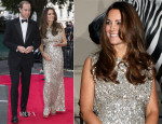 Catherine, Duchess of Cambridge In Jenny Packham - Tusk Conservation Awards