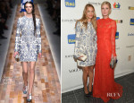 Charlotte Ronson & Nicky Hilton In Valentino - 11th Brazil Foundation NYC Gala