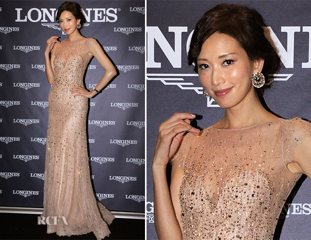 Chi-Ling Lin In Ralph & Russo Couture - Longines Cup Gala Dinner
