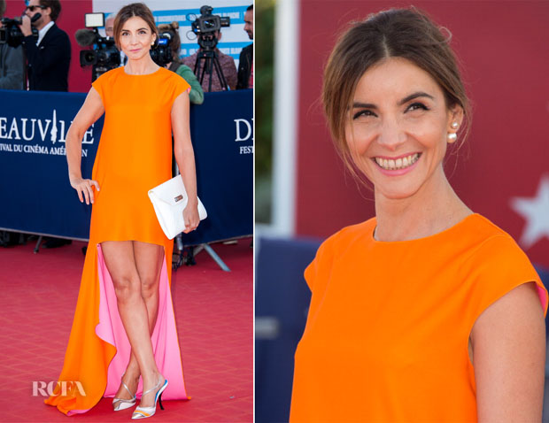 Clotilde Courau In Christian Dior - 'Snowpierce' Premiere and Deauville American Film Festival Closing Ceremony
