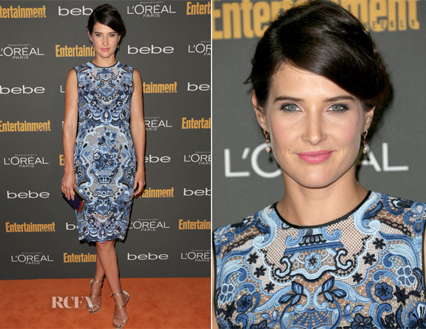 Cobie Smulders In Valentino - Entertainment Weekly's Pre-Emmy Party