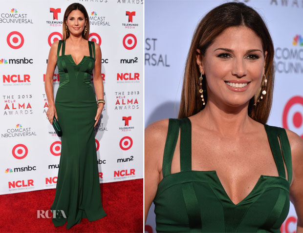Daisy Fuentes In David Meister - 2013 NCLA ALMA Awards