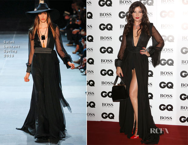 Daisy Lowe In Saint Laurent - GQ Men of the Year Awards