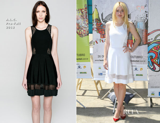 Dakota Fanning In ALC - 'Night Move' Rio International Film Festival Photocall