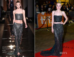 Dakota Fanning In Atelier Versace - 'Night Moves' Toronto Film Festival Premiere