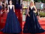 Dakota Fanning In Elie Saab Couture - 'Night Moves' Venice Film Festival Premiere