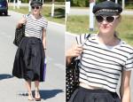 Diane Kruger In Tibi - Venice Arrival
