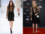 Diane Kruger In Jill Stuart - 'The Bridge' Munich Screening
