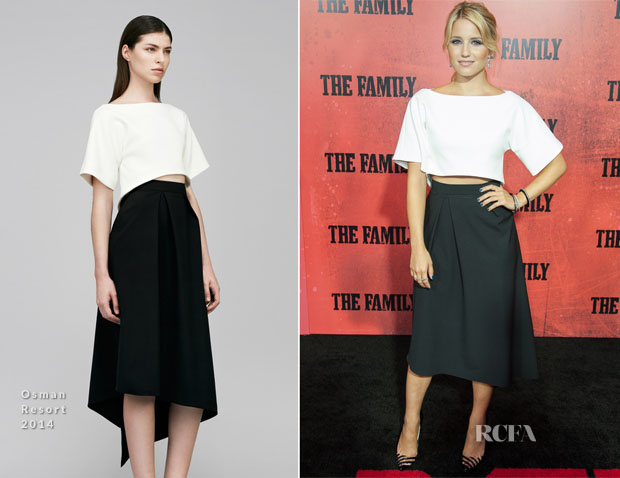 Dianna Agron In Osman - 'The Family' World Premiere