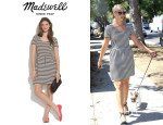 Dianna Agron's Madewell 'Bistro' Dress