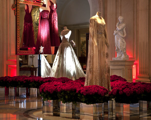 EXPOSITION ELIE SAAB - HOTEL FOUR SEASONS GEORGE V (1)
