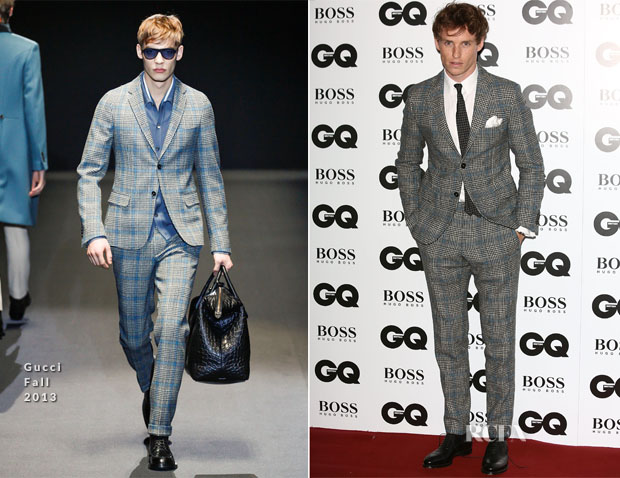 Eddie Redmayne In Gucci - GQ Men Of The Year Awards