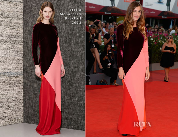 Elisa Sednaoui In Stella McCartney - 'Under The Skin' Venice Film Festival Premiere