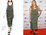 Elizabeth Olsen In Proenza Schouler - 'Therese' Toronto Film Festival Premiere