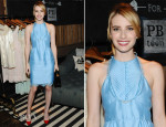 Emma Roberts In Emilio Pucci -  Emily + Meritt for PBteen Launch Event