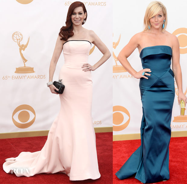 Carrie Preston at the emmys