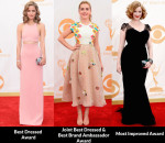 Fashion Critics' 2013 Emmy Awards Roundup