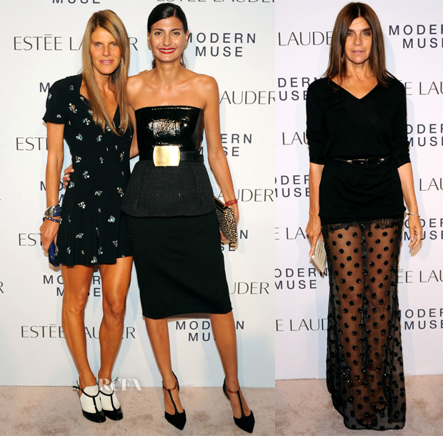 Estee Lauder 'Modern Muse' Fragrance Launch Party Red Carpet Roundup  2