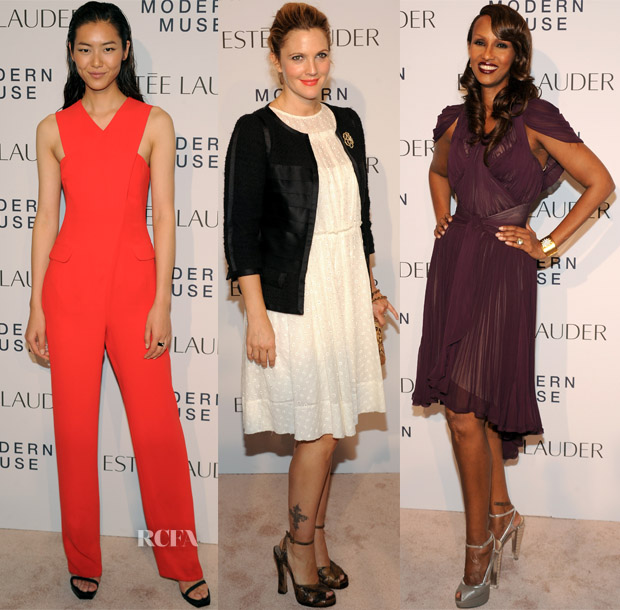 Estee Lauder 'Modern Muse' Fragrance Launch Party Red Carpet Roundup 3