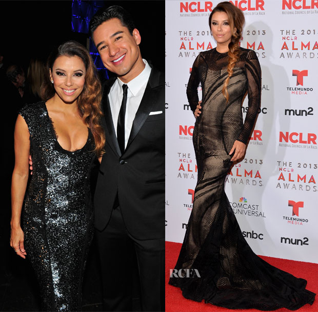 Eva Longoria ALMA Awards 2013 (3)
