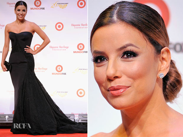 Eva Longoria In Versace - 26th Annual Hispanic Heritage Awards