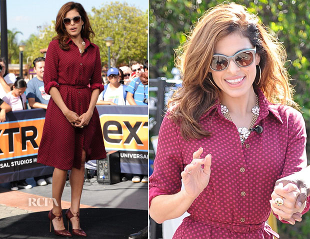 Eva Mendes In Eva Mendes for New York & Company - Extra
