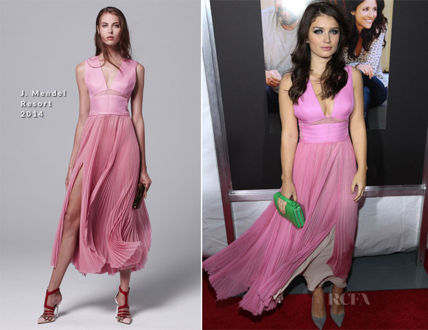 Eve Hewson In J Mendel - 'Enough Said' New York Premiere