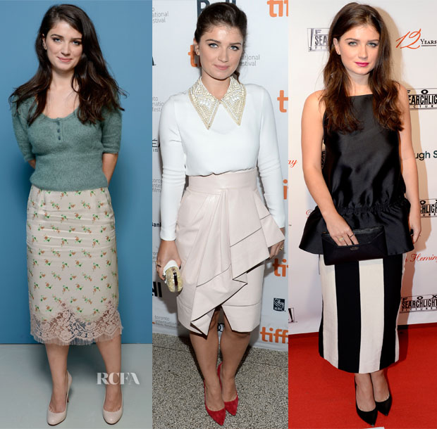 Eve Hewson's Three Looks In One Day @ Toronto Film Festival