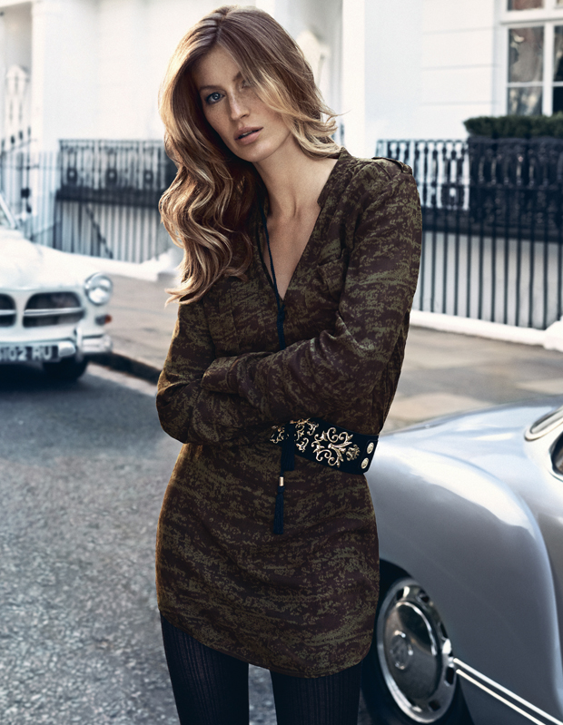 Gisele Bundchen for H&M Fall 2013