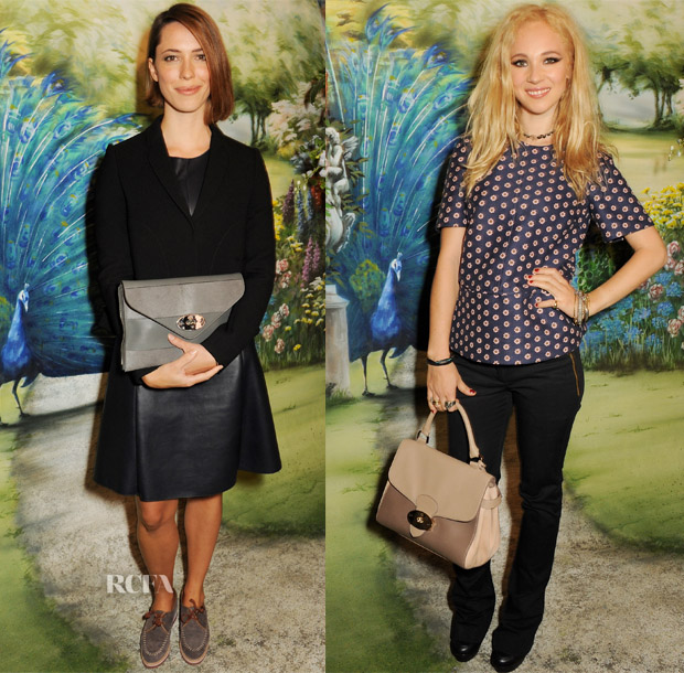 Front Row @ Mulberry Spring 2014 2