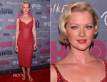 Gretchen Mol In L'Wren Scott - 'Boardwalk Empire' Season Four New York Premiere