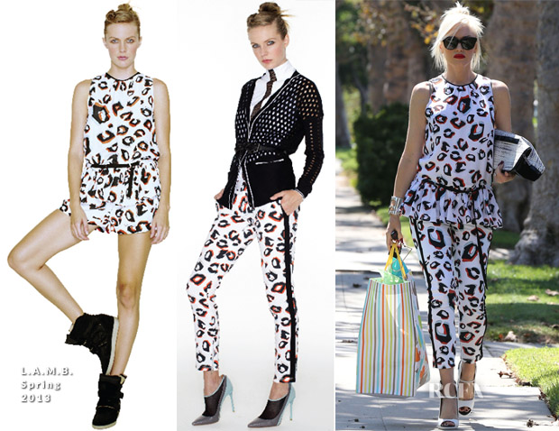 Gwen Stefani In LAMB - Out In LA