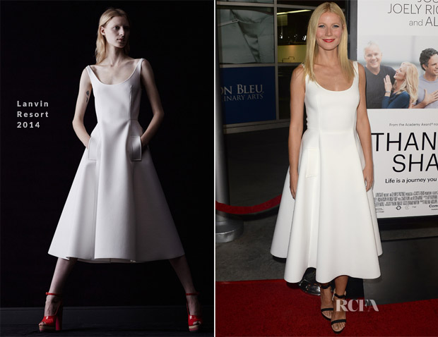 Gwyneth Paltrow In Lanvin - 'Thanks for Sharing' LA Premiere